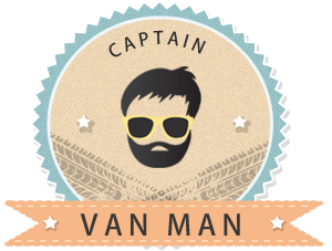 captain van man logo